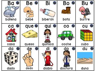 3 silabarios para niños de preescolar para imprimir 2
