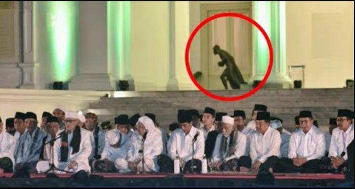 Maruf Amin Bilang Jin di Istana Negara pada Kabur Sejak Jokowi Gelar Zikir Rutin
