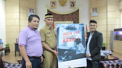 Walikota Padang Mahyeldi Terima Hibah Film Pendek Karya Asrinaldi