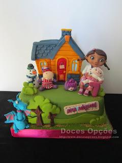 A Doutora Brinquedos no aniversário da Ana Miguel