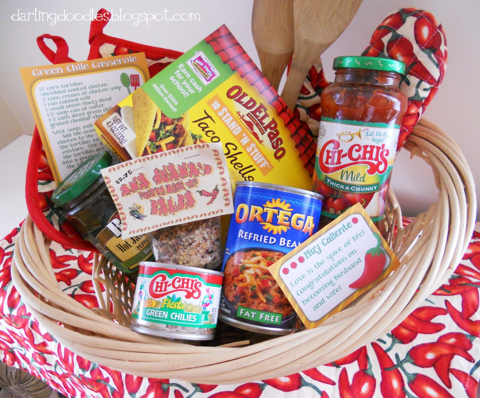 Themes For Gift Baskets: Darling Doodles