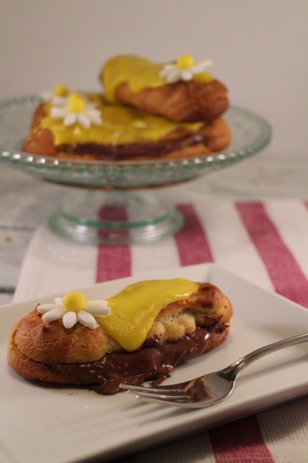 chocolate-eclairs, eclairs-de-chocolate