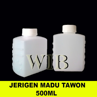 JERIGEN MADU AL WADEY 500ml putih