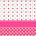 Sweet 16 Pink, Green and White Polka Dots: Free Printable Candy Bar Labels.