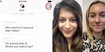 Instagram'a Görüntülü Konuşma Özelliği Geldi