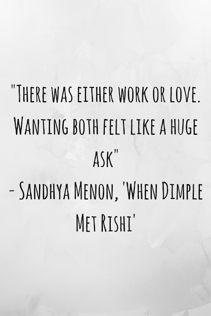 Review of 'When Dimple Met Rishi' by Sandhya Menon