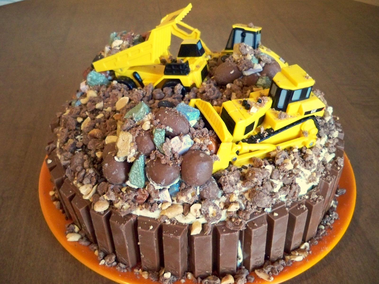 Bulldozer Cake Photos