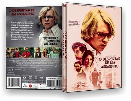 CAPA DVD – O Despertar De Um Assassino – ISO
