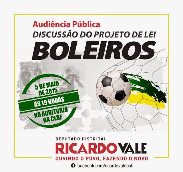 JORNAL DE SOBRADINHO  CLDF  Projeto de Lei Boleiros é tema de ... 3db9517fb231c