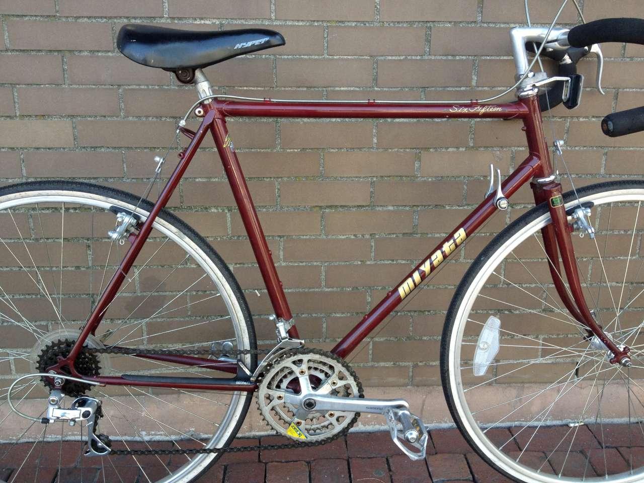 Bike Boom refurbished bikes: 1988 Miyata six fifteen touring