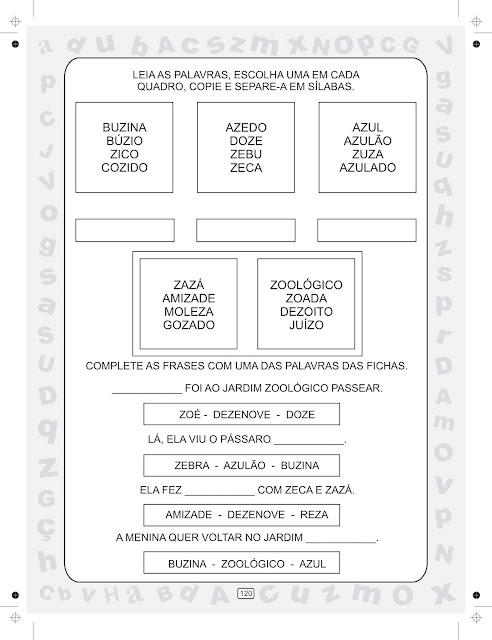 Livro Ciranda das Sílabas Volume 4