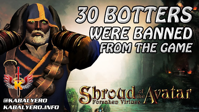 Shroud of the Avatar Bans 30 Botters Or Bot Users From The Game