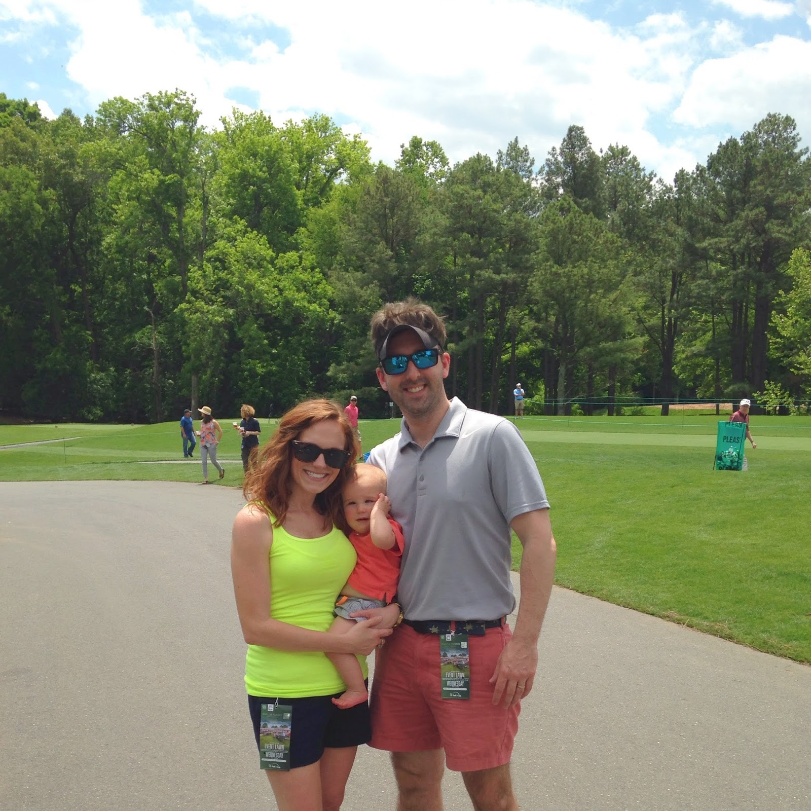 Wells Fargo Championship {Thomas's 1st Golf Tournament}