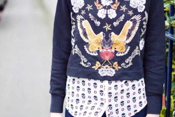 Zara cropped jumper