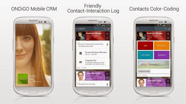 Ondigo Mobile CRM Is The Future Of Mobile CRMs