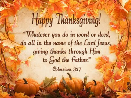 Cans 4 Christ: Happy Thanksgiving from the Canning Crew