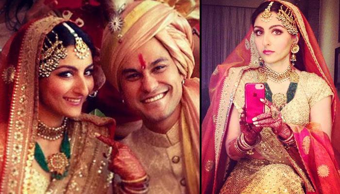 Jyothika Mehndi Ceremony : The wedding story of soha ali khan pataudi and kunal khemu indian