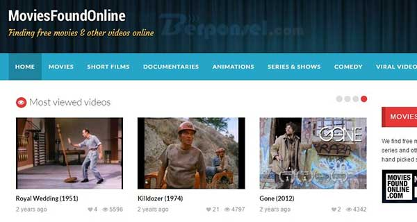Situs Download Film Movie Legal dan Termudah