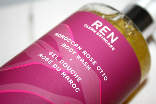 REN Limited Edition Moroccan Rose Otto Body Wash