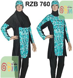 baju renang muslimah syari RZB 760