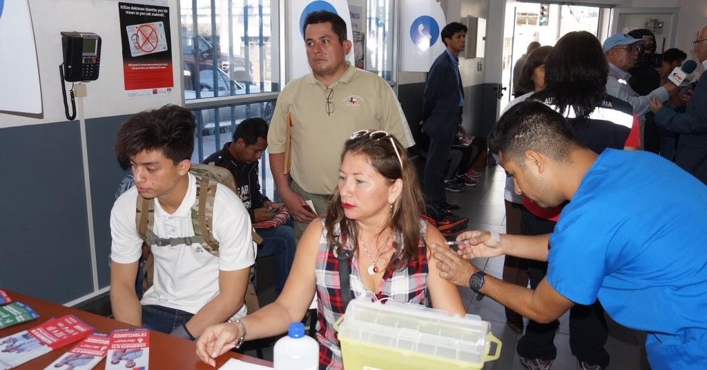As surgen salud y gobernaci n llevaron vacunaci n for Oficinas de extranjeria