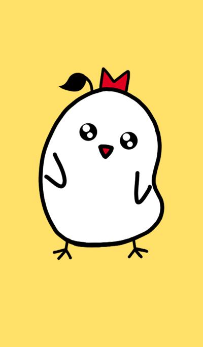 White Baby Chick
