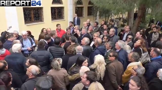 Ενταση από Μανιάτες μετά την εκλογή του νέου Μητροπολίτη Μάνης (βίντεο)