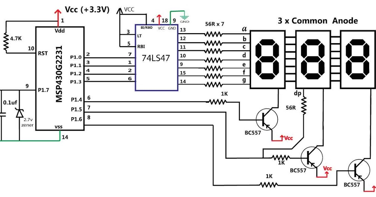 embedded engineering   msp430 based 30v volt meter