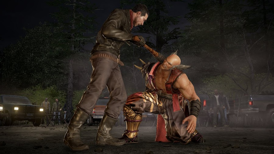 Negan Tekken 7 the walking dead dlc