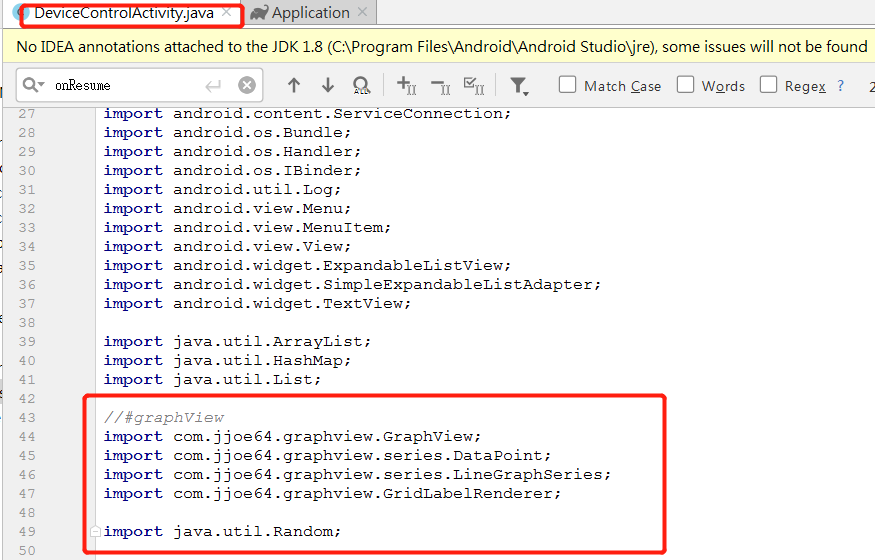 Programming notes: Android : google BLE example mix