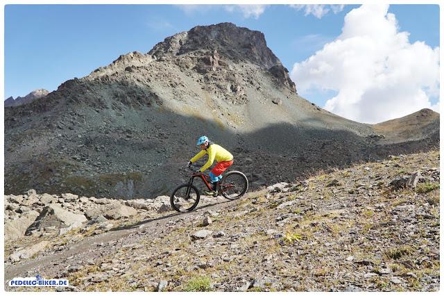 Die abwechslungsreichen trails in Ischgl sind wie geschaffen für das knackige Atom-X von BH Bikes.