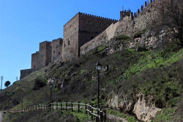 El Camino de la Ronda permite un paseo por el lienzo de la muralla