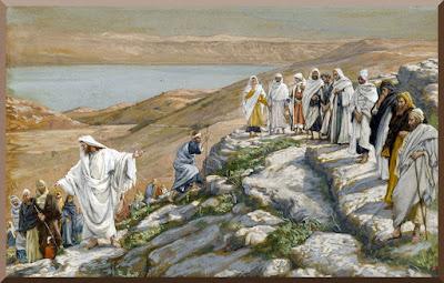 """Ordaining of the Twelve Apostles"" -- by James Tissot, public domain PD-1923"