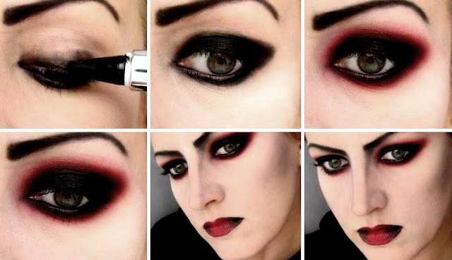 How To Apply Vamp Eye Makeup