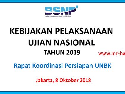 Info UNBK 2020 : Kunci Sukses Ujian Nasional (UN-UNBK)