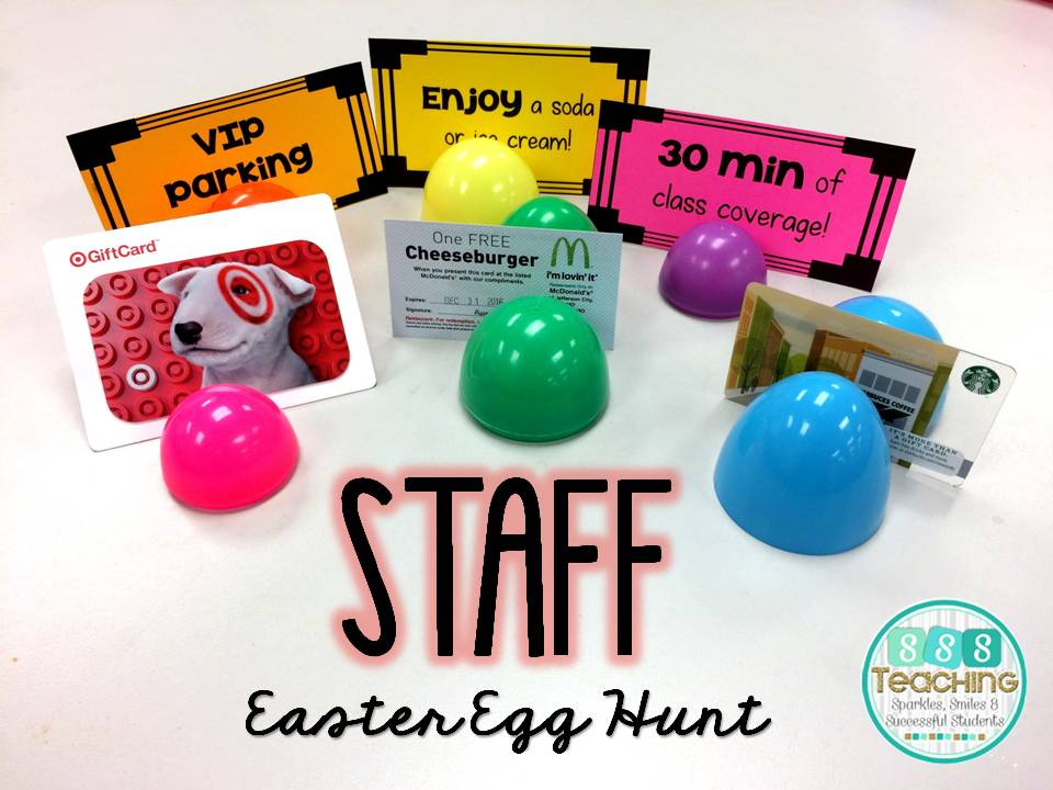 Staff easter egg hunt sssteaching staff easter egg hunt negle