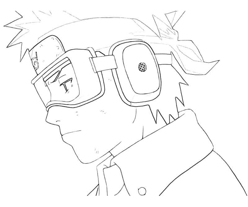 Printable Naruto Obito Uchiha Smile Coloring Pages 6
