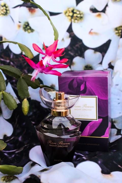 Am testat apa de parfum Rare Flowers Night Orchid de la Avon