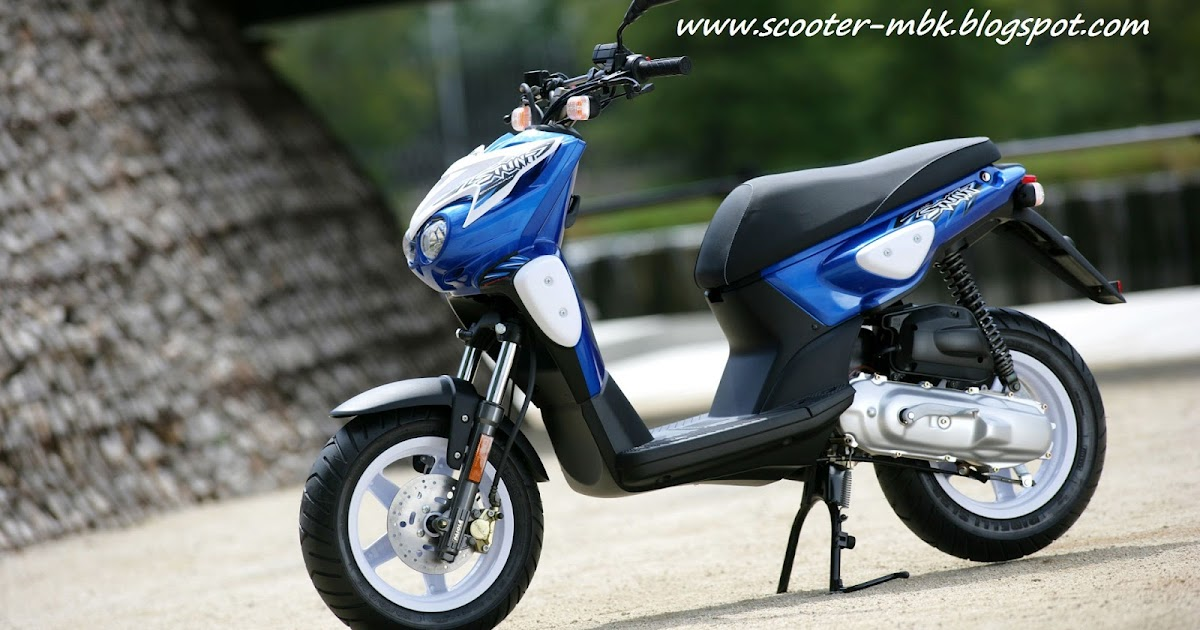 scooter mbk stunt bleu. Black Bedroom Furniture Sets. Home Design Ideas