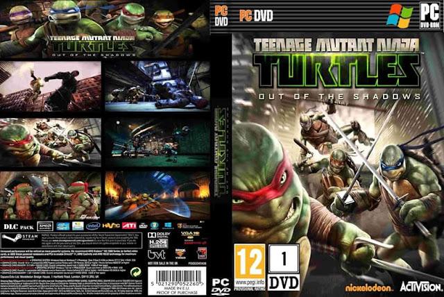 تحميل لعبه teenage mutant ninja turtles out of the shadows كامله مضغوطه بحجم 2.31 جيجا فقط برابط واحد والتحميل من ميديا فاير