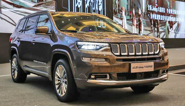 burlappcar how about a couple of pictures of the new jeep grand commander. Black Bedroom Furniture Sets. Home Design Ideas