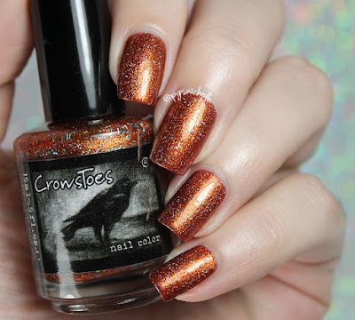 CrowsToes Nail Color Beyond Your Fears | Hella Holo Customs September 2016
