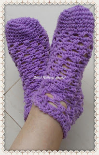 crochet ladies socks