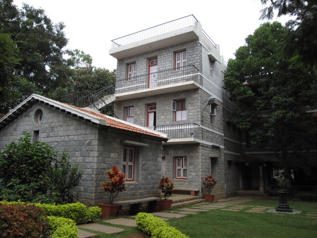 Atma Darshan Yoga Ashram main building