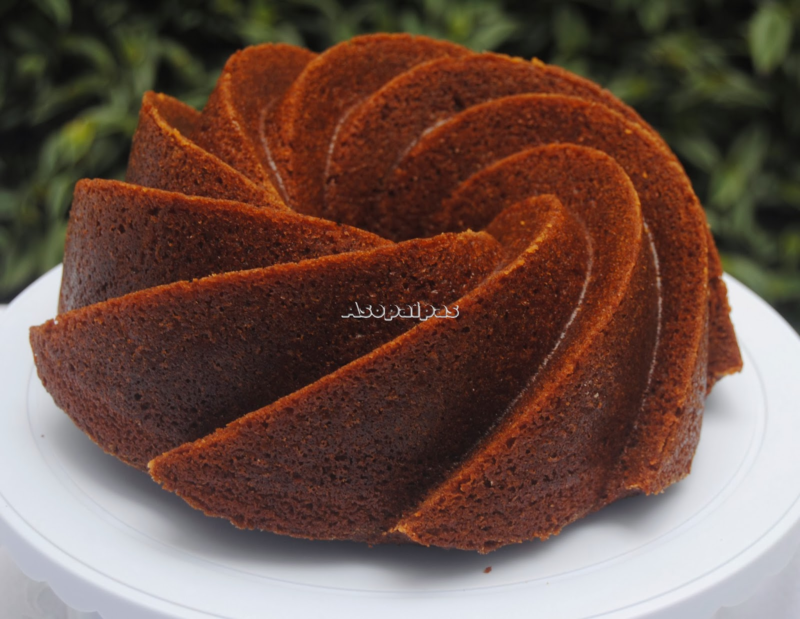 Bundt Cake de Tiramisú