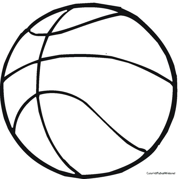 desenhos de basquete para colorir