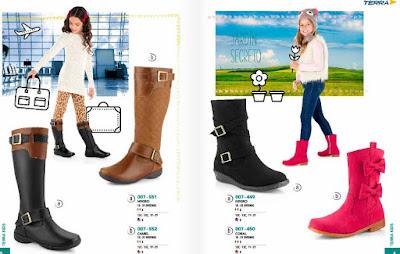 Terra kids catalogo calzado zapatos y zapatillas : Mexico y Usa