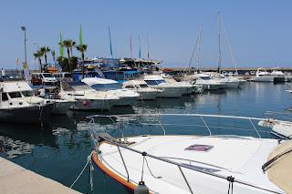 Tenerife, Puerto Colon, harbour, yachts, sea