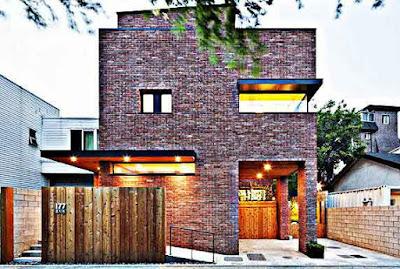 Desain rumah minimalis ala Korea