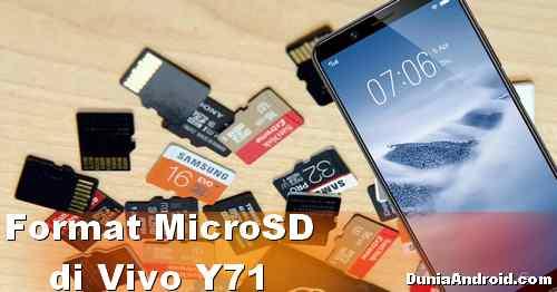 Cara Format Kartu Memori di HP Vivo Y71